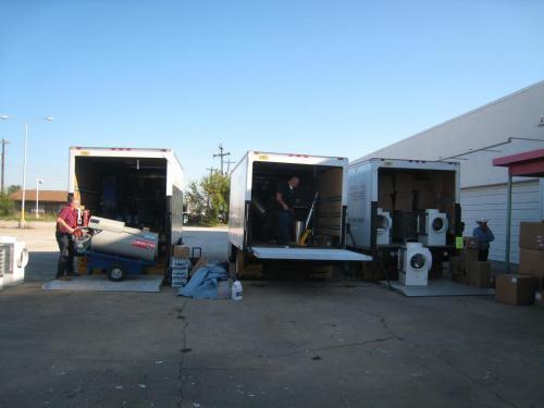3 Truck of Dryer Equip